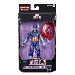 """PRE-ORDER: Zombie Captain America   What If…?   6"""" Scale Marvel Legends Series Action Figure"""