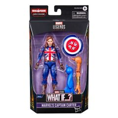 """PRE-ORDER: Marvel's Captain Carter   What If…?   6"""" Scale Marvel Legends Series Action Figure"""
