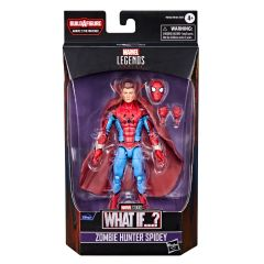 """PRE-ORDER: Zombie Hunter Spidey   What If…?   6"""" Scale Marvel Legends Series Action Figure"""
