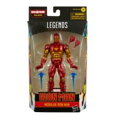 "PRE-ORDER: Modular iron Man | Iron Man | 6"" Scale Marvel Legends Series Action Figure"