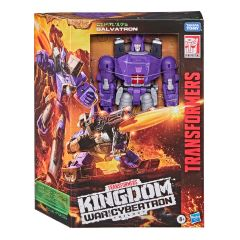 PRE-ORDER: Galvatron WFC-K28 | Leader Class Action Figure | Transformers Generations War for Cybertron: Kingdom