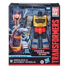 Grimlock and Autobot Wheelie | Transformers: The Movie | Studio Series 86-06