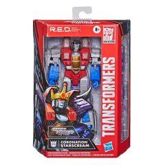 Coronation Starscream   R.E.D. Figure (Robot Enhanced Design)   Transformers: The Movie