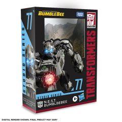 PRE-ORDER: N.E.S.T. Bumblebee   Studio Series 77 Deluxe Class Action Figure   Transformers: Bumblebee