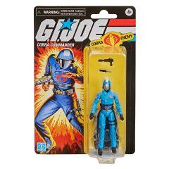 "Cobra Commander   Retro Collection 3.75"" Scale Action Figure   G.I. Joe"