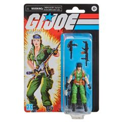 "Lady Jaye | Retro Collection 3.75"" Scale Action Figure | G.I. Joe"