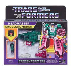 Skullcruncher | Deluxe Retro Headmaster Action Figure | Transformers: Generations