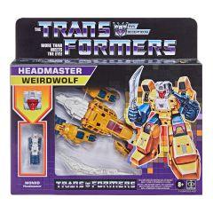 Weirdwolf | Deluxe Retro Headmaster Action Figure | Transformers: Generations