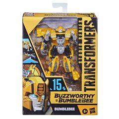 Bumblebee | Buzzworthy Bumblebee Studio Series 15-BB | Deluxe Class Action Figure | Transformers: Bumblebee