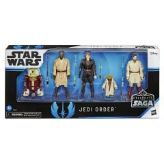 Jedi Order | Celebrate the Saga Action Figure Five Pack | Star Wars