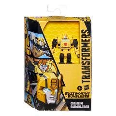 PRE-ORDER: Origin Bumblebee   Buzzworthy Bumblebee    Deluxe Class Action Figure   Transformers The Animated Series