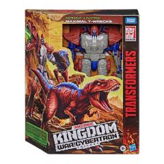 PRE-ORDER: Maximal T-Wrecks WFC-K37 | Leader Class Action Figure | Transformers Generations War for Cybertron: Kingdom