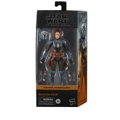 "Bo-Katan Kryze | 6"" Scale Black Series Action Figure | Star Wars: The Mandalorian"