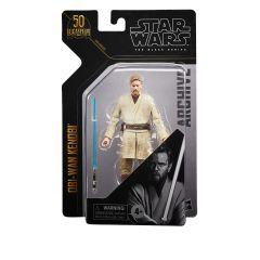 "PRE-ORDER: Obi-Wan Kenobi | 6"" Black Series Archive Collection Action Figure | Star Wars"