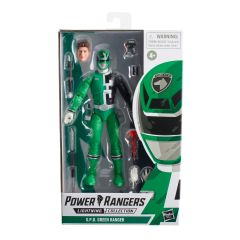 PRE-ORDER: S.P.D. Green Ranger  | Power Rangers | Lightning Collection Action Figure