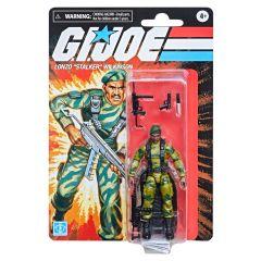 "PRE-ORDER: Lonzo ""Stalker"" Wilkinson   Retro Collection 3.75"" Scale Action Figure   G.I. Joe"