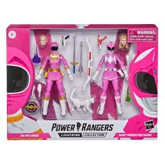 PRE-ORDER: MMPR Pink Ranger & Zeo Pink Ranger | Power Rangers Lightning Collection Action Figure 2 Pack