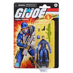 "PRE-ORDER: Cobra Trooper   Retro Collection 3.75"" Scale Action Figure   G.I. Joe"