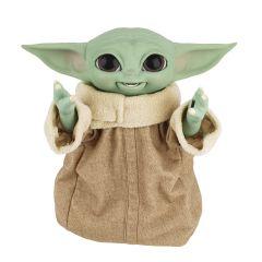 PRE-ORDER: Galactic Snackin' Grogu / Baby Yoda   Animatronic Sound And Motion Toy   Star Wars: The Mandalorian