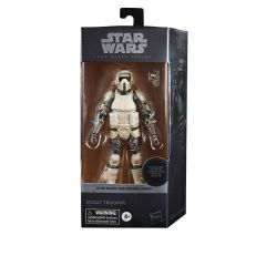 """PRE-ORDER: Carbonized Scout Trooper   6"""" Scale Black Series Action Figure   Star Wars: The Mandalorian"""