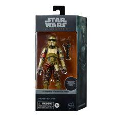 "PRE-ORDER: Carbonized Shoretrooper   6"" Scale Black Series Action Figure   Star Wars: The Mandalorian"