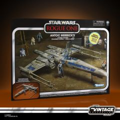 """PRE-ORDER: Antoc Merrick's X-Wing Fighter   Vintage Collection 3.75"""" Scale Action Vehicle And Figure   Star Wars: Rogue One"""