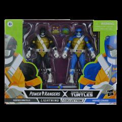 PRE-ORDER: Morphed Donatello and Morphed Leonardo   Power Rangers X Teenage Mutant Ninja Turtles Lightning Collection