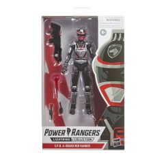 PRE-ORDER: S.P.D. A-Squad Red Ranger | Power Rangers Lightning Collection Action Figure