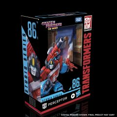 PRE-ORDER: Perceptor   Studio Series 86-11 Deluxe Class Action Figure   Transformers: The Movie
