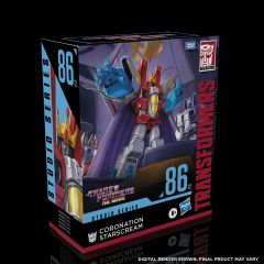 PRE-ORDER: Coronation Starscream   Studio Series 86-12 Leader Class Action Figure   Transformers: The Movie