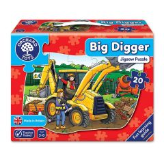 Big Digger Jigsaw - Orchard Toys