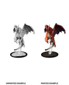 Young Red Dragon - Dungeons & Dragons NolzurΓÇÕs Marvelous Miniatures