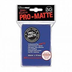 Pro Matte Blue Sleeves (Pack of 50)