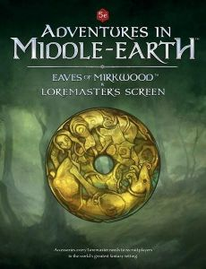 Eaves Of Mirkwood & Loremaster's Screen - Adventures In Middle Earth