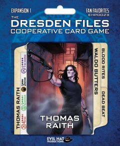 Fan Favorites (Expansion 1): The Dresden Files Card Game Expansion