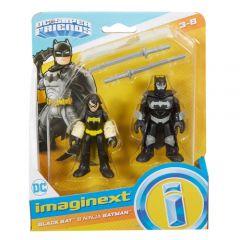 Black Bat & Ninja Batman   DC Super Friends   Imaginext
