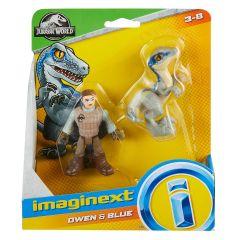 Owen & Blue   Jurassic World   Imaginext