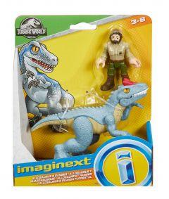 Allosaurus & Ranger   Jurassic World   Imaginext
