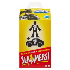 Batmobile Imaginext Slammers! Mystery Figure & Vehicle | DC Super Friends