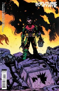 FUTURE STATE ROBIN ETERNAL #1CARD STOCK VARIANT EDITION