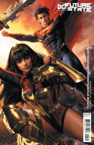 FUTURE STATE SUPERMAN WONDER WOMAN #1 CARD STOCK VARIANT EDITION
