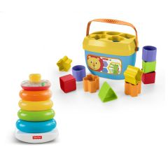 Rock-A-Stack and Baby's First Blocks Bundle | Fisher Price