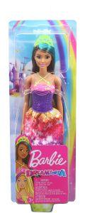 Princess Doll Brunette with Blue Hairstreak | Dreamtopia | Barbie