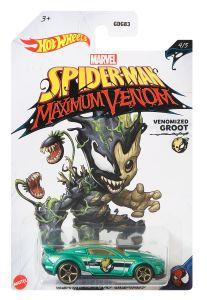 Venomized Groot | Custom '15 Ford Mustang | Spider-Man Maximum Venom 4/5 | Hot Wheels