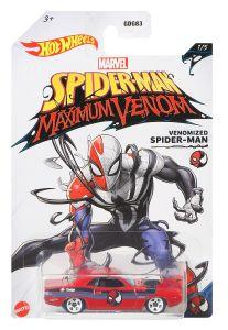 Venomized Spider-Man | '70 Dodge Hemi Challenger | Spider-Man Maximum Venom 1/5 | Hot Wheels