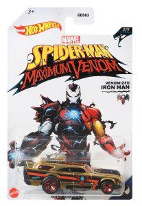 Venomized Iron Man | Jack Hammer | Spider-Man Maximum Venom 2/5 | Hot Wheels