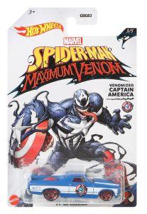 Venomized Captain America | '71 El Camino | Spider-Man Maximum Venom3 /5 | Hot Wheels
