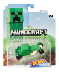 Creeper | Minecraft 1/7 | Character Cars | Hot Wheels