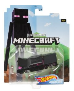 Enderman | Minecraft 2/7 | Character Cars | Hot Wheels