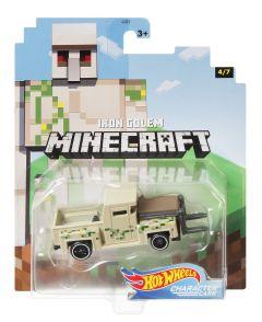 Iron Golem | Minecraft 4/7 | Character Cars | Hot Wheels
